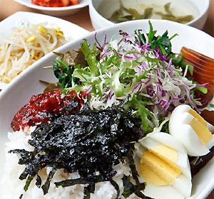 다희연+녹차비빔밥