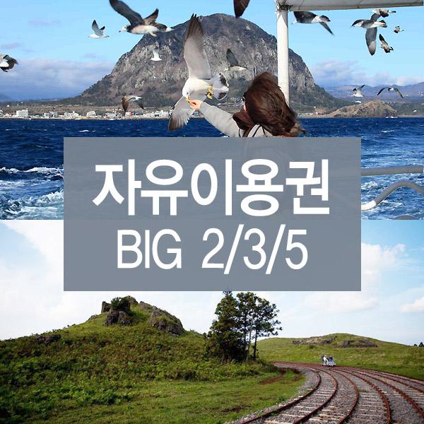 제주도관광지 빅2/3/5 자유이용권
