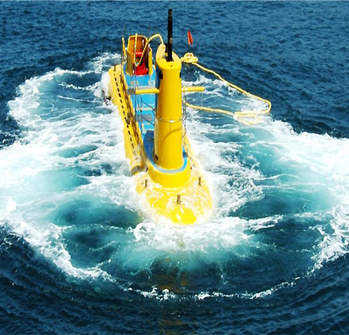 차귀도 해적잠수함(일몰항차)